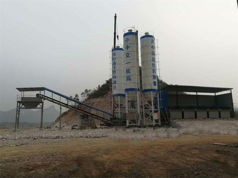 700吨水稳拌合站